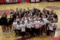 2017-02-10 Willow Glen at WHS + cheer clinic
